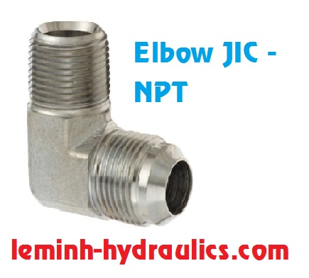 Adaptor Elbow JIC - NPT